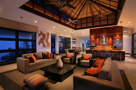 Decorating Ideas Living Room Orange Orange And Black Interiors Living Rooms Bedrooms And