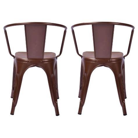 Target Metal Dining Chairs Carlisle Metal Dining Chair Metal Set Of 2 Target