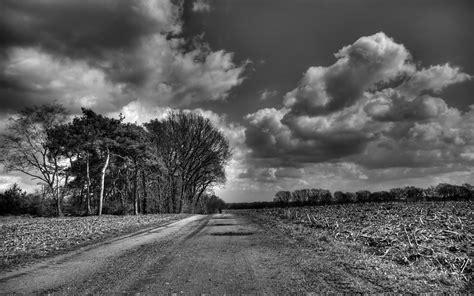 imagenes de paisajes grises nubes paisajes carreteras en escala de grises monocroma
