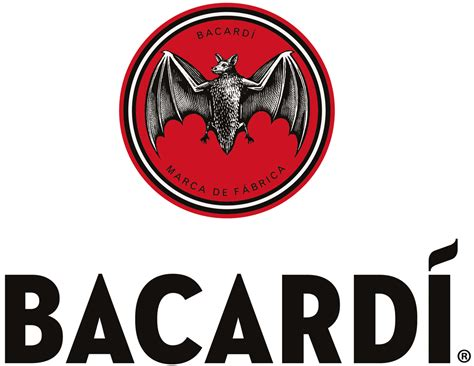 bacardi logo white brand new new logo for bacard 205 by here design