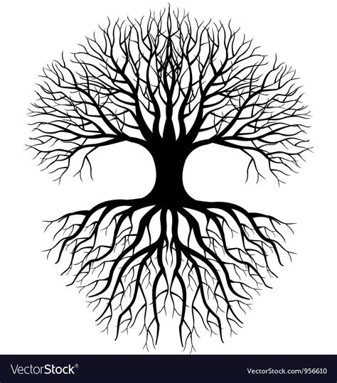 vector stock images tree silhouette royalty free vector image vectorstock
