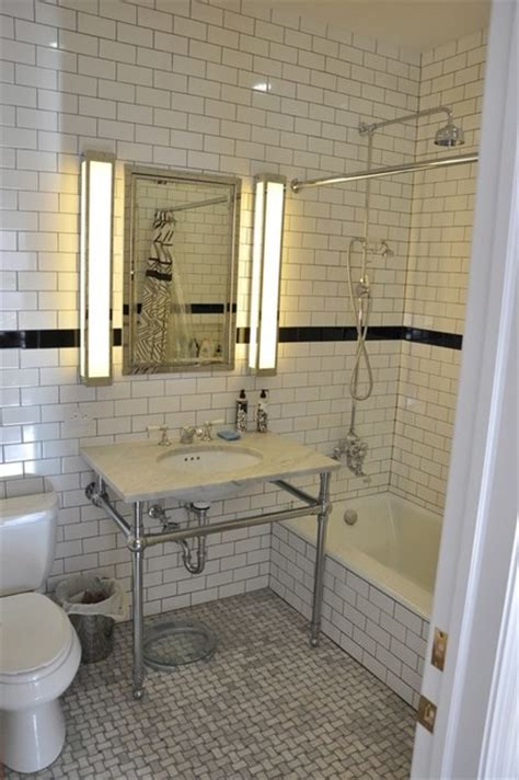 high tech gadgets in a minor bathroom makeover at home w 47th st manhattan brownstone renovation bathroom