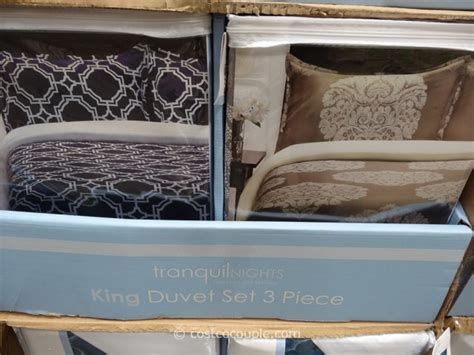 Duvet Costco tranquil nights king duvet set