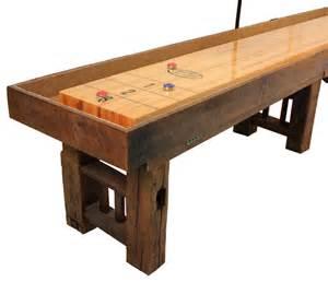 corner angle of the dakota shuffleboard table grand