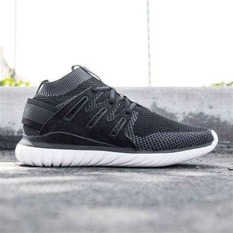 Adidas Tubular Primeknit Black adidas tubular pk primeknit black shablk black