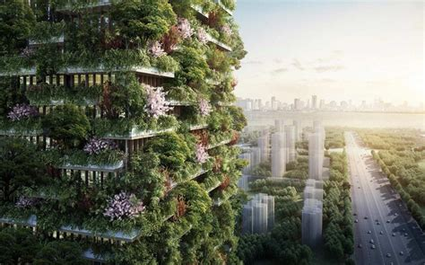 Two More ?Vertical Forest? Buildings Projected for China