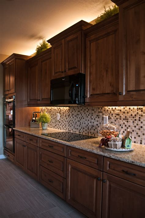 rope lights above cabinets in kitchen kitchen dining kitchen decoration with lights accent