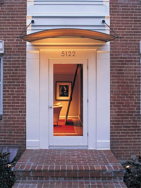 modern door awning modern awning ideas pictures remodel and decor