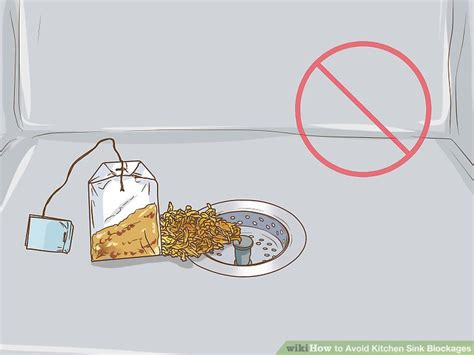Throw In The Kitchen Sink 3 Ways To Avoid Kitchen Sink Blockages Wikihow