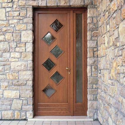porta d ingresso con vetro porta d ingresso in legno per esterno con pannelli in