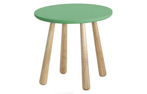 Retro Side Table by Catana Retro Side Table In Emerald Green Out Out