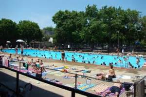 Bucktown, Noble Square Pools in Holstein, Pulaski Parks