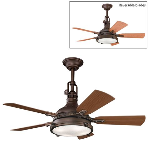 Ceiling Fan Pendant Light Kichler Lighting 310101 4 Light Hatteras Bay Patio Ceiling Fan Atg Stores
