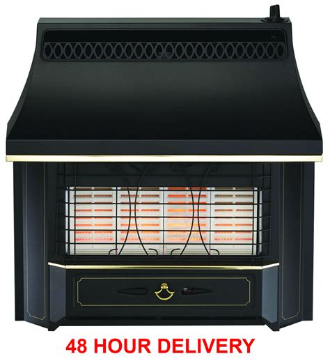 Radiant Heat Gas Fireplace by New Valor Black Radiant Gas Free Delivery In