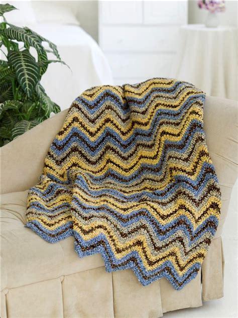 favecrafts free knitting patterns ripple throw free crochet pattern favecrafts