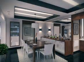 contemporary apartment dining room pendant lamp olpos design