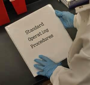 standard operating procedures sops environmental