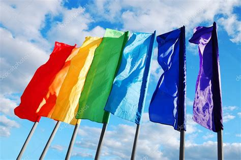 colored flags colored flags stock photo 169 count kert 6718303