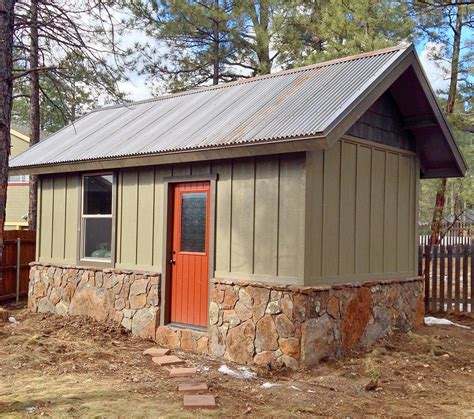 Real Sheds And Barns by A New Custom Shed With A Metal Roof The Siding On This