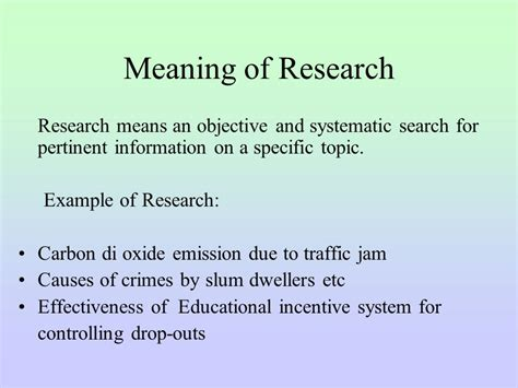 significance of the study in research paper exle research methodology dr chowdhury saleh ahmed ppt