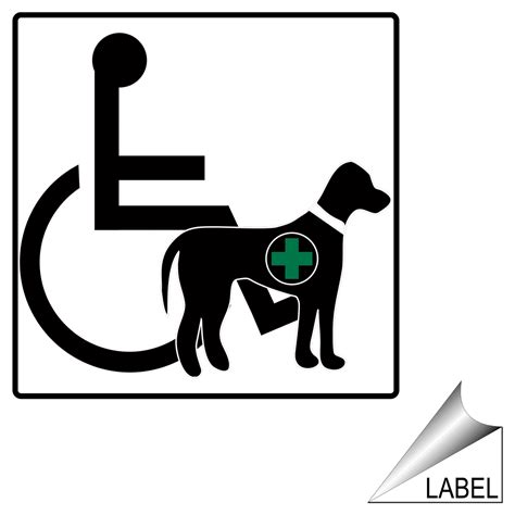 ada service service animal and pet signs