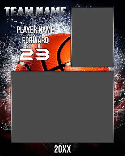 sports photo templates free 8x10 basketball memory mate sports photo template