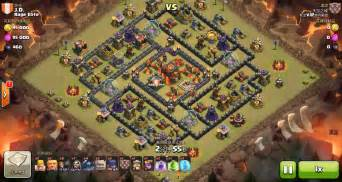 Clash of clans th10 vs th10 premature golem wizard amp pekka gowipe