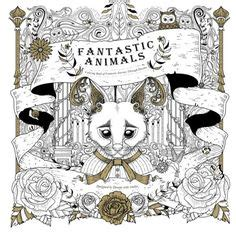 fantastic animals 3 a colouring book a unique antistress coloring gift for and seniors for color therapy with stress relief mindful meditation books 1000 images about coloring books on
