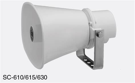 Horn Speaker Toa 15 Watt toa horn loudspeakers canford