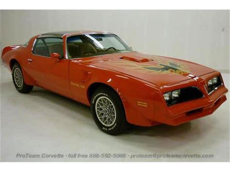 1977 pontiac trans am firebird 1977 pontiac firebird trans am for sale on classiccars