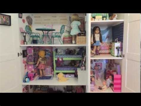 american girl doll videos house tour huge american girl doll house tour youtube