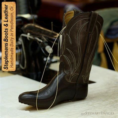 Handmade Cowboy - handmade boot exles at staplemans custom boots shoes