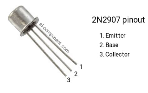 Transistor 2n2907 2n2907 p n p transistor complementary npn replacement pinout pin configuration substitute