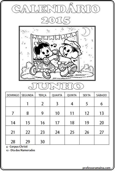 Calendario Junho 2015 Professora Ma 237 Na Janeiro 2015