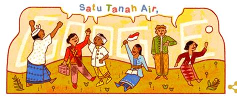 doodle sumpah pemuda gambar dan ucapan selamat hari sumpah pemuda indonesia