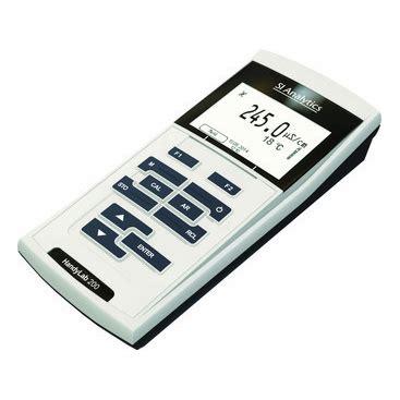 Handylab 100 Ph Meter Si Analytics si analytics handylab 200 conductivity meter xylem