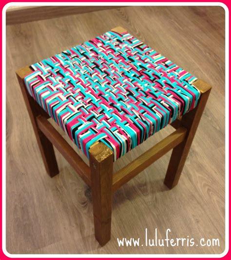 taburete ella tutorial taburete con trapillo tienda talleres y cursos