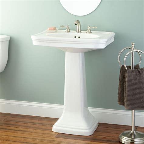kacy porcelain pedestal sink 78 best bath redo images on bathroom home