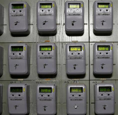 Apartment Building Electricity Meter Smart Meter Bald Wird Strom Mit Digitaler Technik