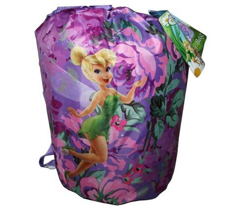 disney fairies tinkerbell sleeping bag slumber bedding backpack 3 pp ebay