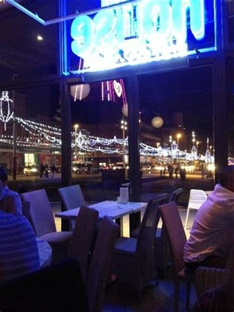 house bistro blackpool view of illuminations from the house bistro