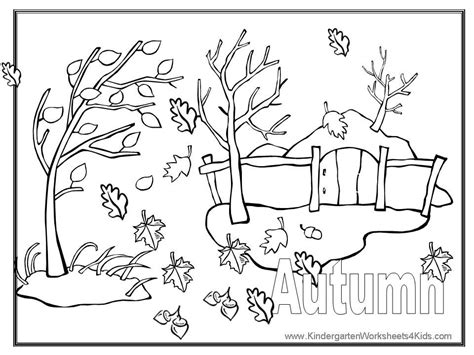 coloring page fall autumn color pages coloring home