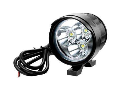 motorcycle auxiliary lights cree t6 4000lm motorbike