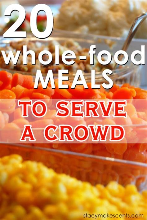 20 delicious cooking for a crowd recipes momswhosave com pinterest the world s catalog of ideas