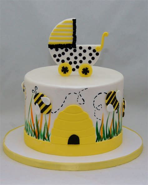 bouncing bumble bee baby shower cake cake in cup ny