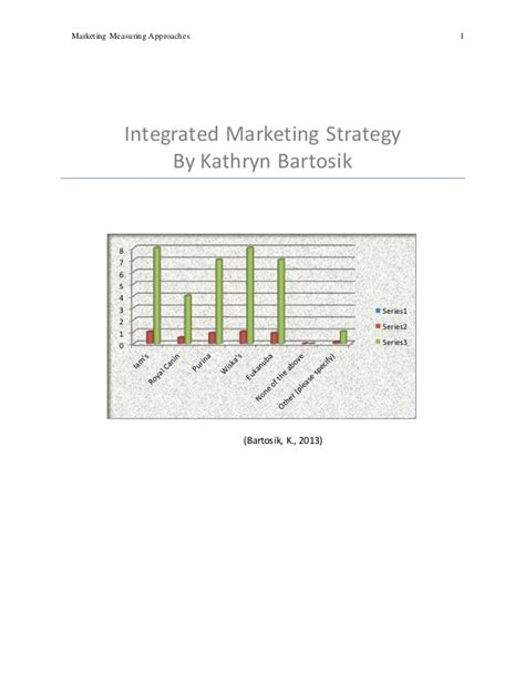 Mba Capstone Business Plan by Integrated Marketing Management Capstone Course Sle