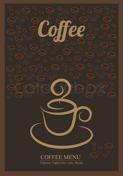 coffee poster wallpaper modern posters with coffee background templates with