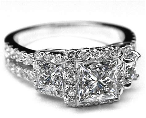 princess cut rings princess engagement rings
