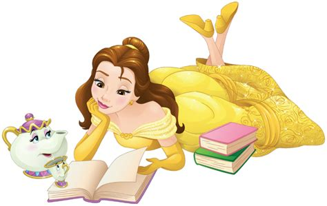 Minnie Mouse Wall Stickers image belle mrs potts and chip png disney wiki