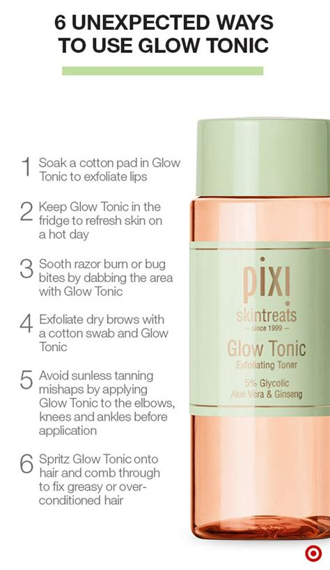 Toner Glow Glowing Skin pixi glow tonic has been called a miracle in a bottle